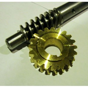 Angle Worm Gear dan Shaft untuk Snow Blower