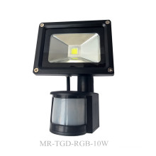 Outdoor 10W-50W PIR Motion Sensor LED Floodlight