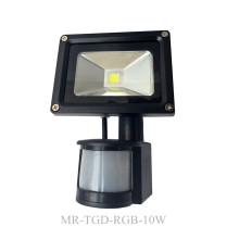 Projector LED de movimento para exterior 10W-50W PIR