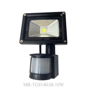 Projecteur extérieur de capteur de mouvement de 10W-50W PIR LED