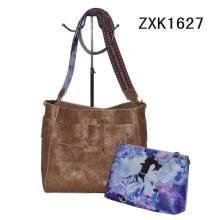 Spring Strap Fashion Shoulder Bag with Flower Pouches (ZXK1627)