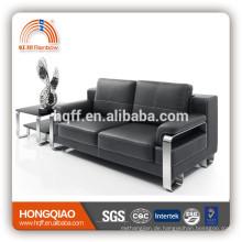 S-10 Edelstahl Fram Leder PU Büro Sofa Möbel