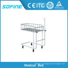 SF-DJ124 Детская кроватка из нержавеющей стали, детская кроватка для младенцев