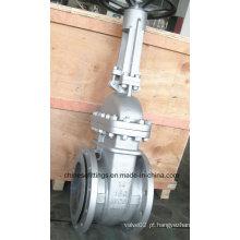 A216 Wcb Roda de mão Flange de aço fundido Válvulas de portão de cunha