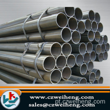 Q235 commom carbono rodada Erw Steel Pipe