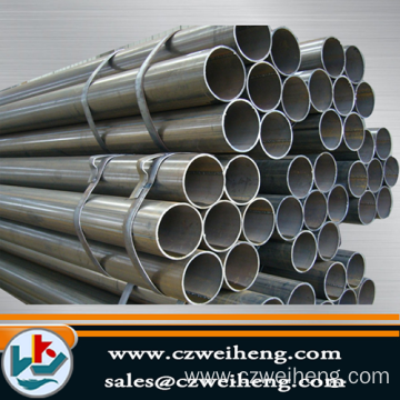 Carbon Steel material Erw Steel Pipe making