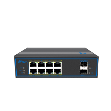 full gigabit Industrial Unmanaged PoE Switch