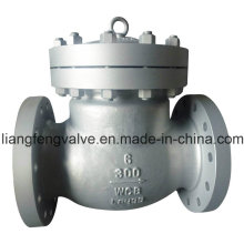 ANSI Flanged Swing Check Valve with Cast Steel