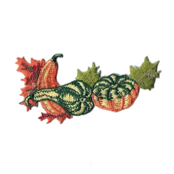 Thanksgiving Harvest Pumpkins Feuilles de courges