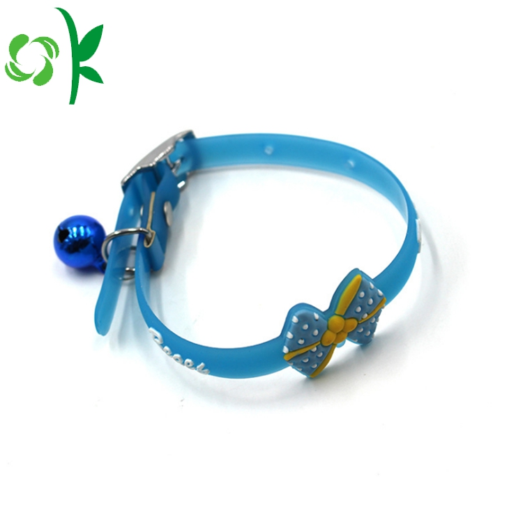 Silicone Bow Dog Collar