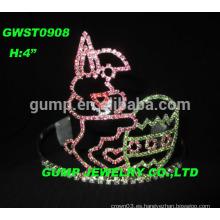 Tiara de las vacaciones, tiara de la corona del desfile de Pascua