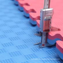 Esteira do enigma da ginástica de 1mX1m Melhor qualidade EVA Tatami Mat