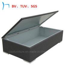 PVC Rattan Outdoor Garden Cushion Box