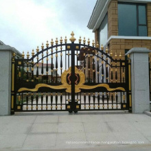 Beautiful Outdoor Decorative Wrought Iron Gates