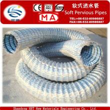 Flexible Abflussrohre für den Dachgarten