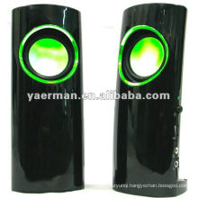 2.0 USB plastic speaker for computer