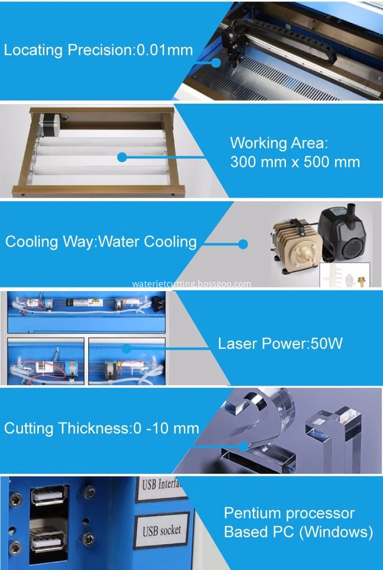 40W LASER CUTTING MACHINE