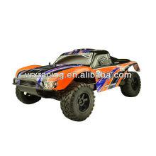 Printed SC truck body 1pc orange,1/10th scale rc cars' orange body, rc rally's body shell