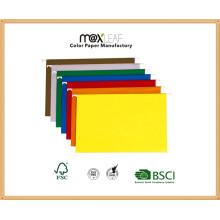 180GSM A4 / FC Бумажная висячая папка для папок для документов Рекламная папка Fordable File