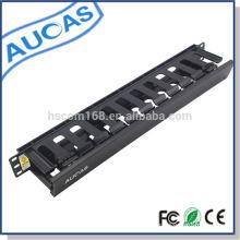 Rack de servidor de montaje en pared de alta calidad estándar 19inch gabinete de datos 1u sistema de gestión de cable en caja de embalaje mejor precio