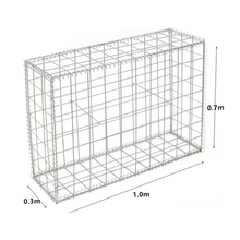 Belgium 1.0x0.3x0.7m Powder Coated Welded Animal Cage Customized Gabion Rond