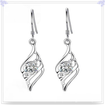 Кристалл ювелирные изделия серьги стерлингового серебра 925 ювелирные изделия (SE048)