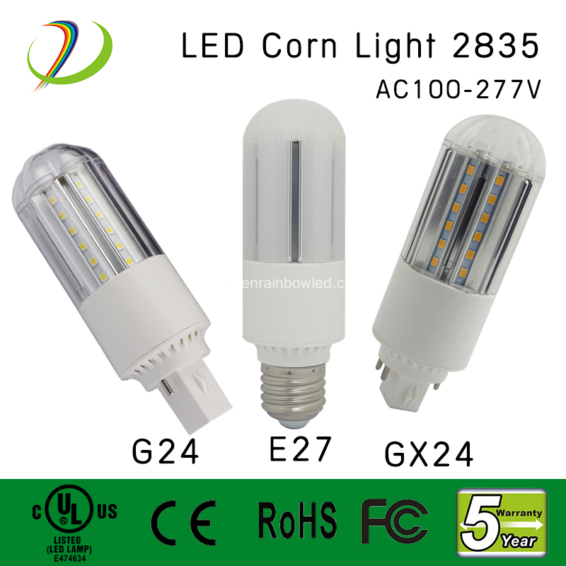 6W LED Corn Light UL CE Qualified