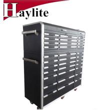Cajas de herramientas y gabinetes de herramientas de acero rodantes con traba para la venta