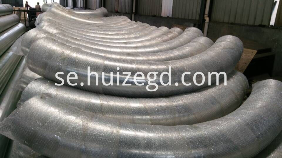 90 Degree SUS304 Stainless Steel Bend