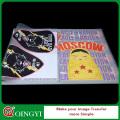 Qing yi personnalisé autocollant de transfert de chaleur plastisol pour le tissu