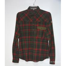 Bon prix 100% coton hommes chemises en flanelle