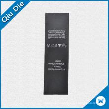 Selvage Ribbon Black Washable Label