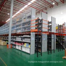 Steel Mezzanine Shelving for Industrial Warehouse Storage