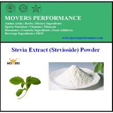 Polvo del extracto de Stevia del suministro de la fabricación (esteviósido)