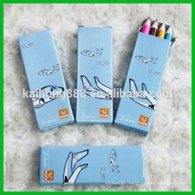Round Wooden Color Pencil with Set