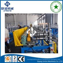 Suqian metal de la ciudad auto-bloqueo tubo oval / rodillo de tubo que forma la máquina para la construcción