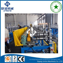 suqian city metal self-lock oval tube/ pipe roll forming machine for construction