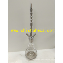 Shisha Nargile Pipe à fumer Hookah Tige en acier inoxydable