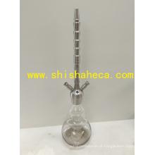 Shisha narguilé cachimbo cachimbo de água haste de aço inoxidável