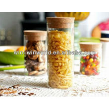Hermetic food glass jar wholesale