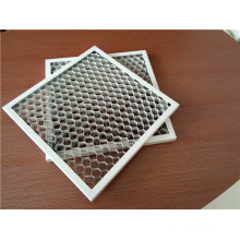 White Color Aluminum Honeycomb Ceiling Tiles