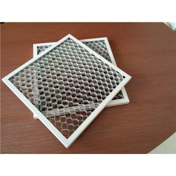 White Color Aluminum Honeycomb Ceiling Tiles