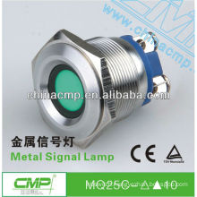 (Dia:25mm) stainless steel color led indicator light ip67