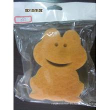 Esponja encantadora del filtro de la forma de la rana