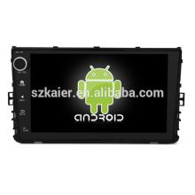 Núcleo Octa! Dvd do carro do andróide 8,1 para a VW universal com a tela capacitiva de 9 polegadas / GPS / ligação do espelho / DVR / TPMS / OBD2 / WIFI / 4G