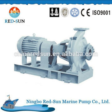 Horizontal single stage single suction marine pump