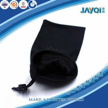 Black Cell Phone Suede Pouch