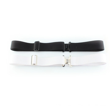 Black and white color web army belt