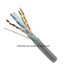 FTP CAT6 LSZH Kabel Fluke Getestet Soild Bare Kupfer Grau