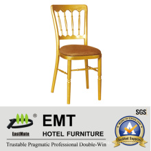 Профессиональный стальной банкетный стул (EMT-818-AL)